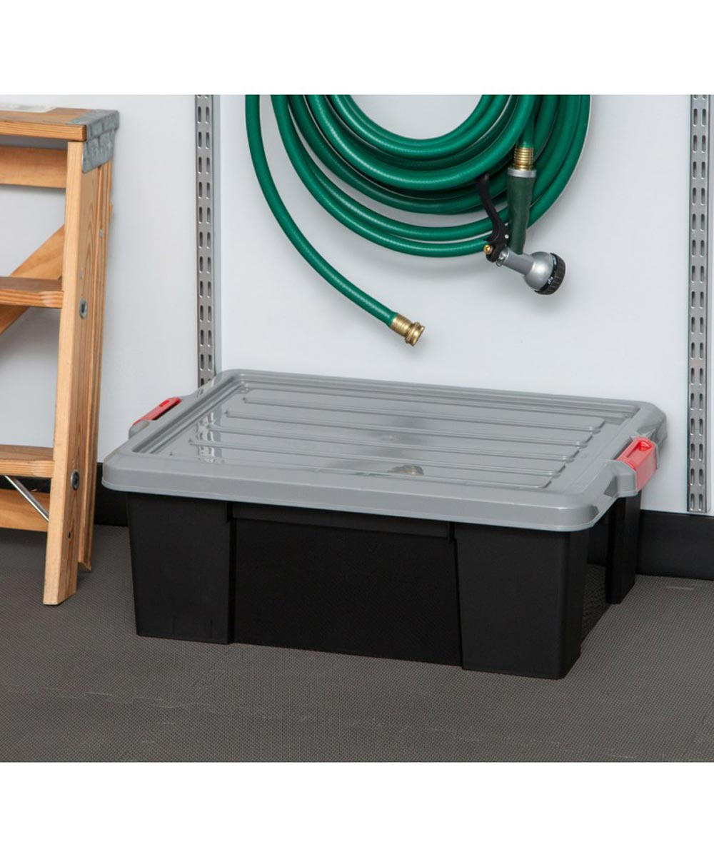Stor-It-All Heavy-Duty Storage Tote, 43 Quarts / 10.75 Gallons