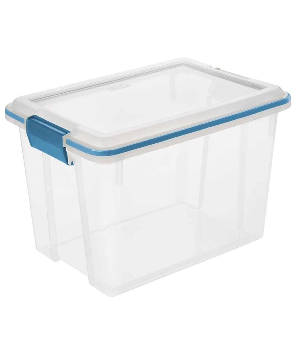 Sterilite 20 Quart Gasket Storage Box