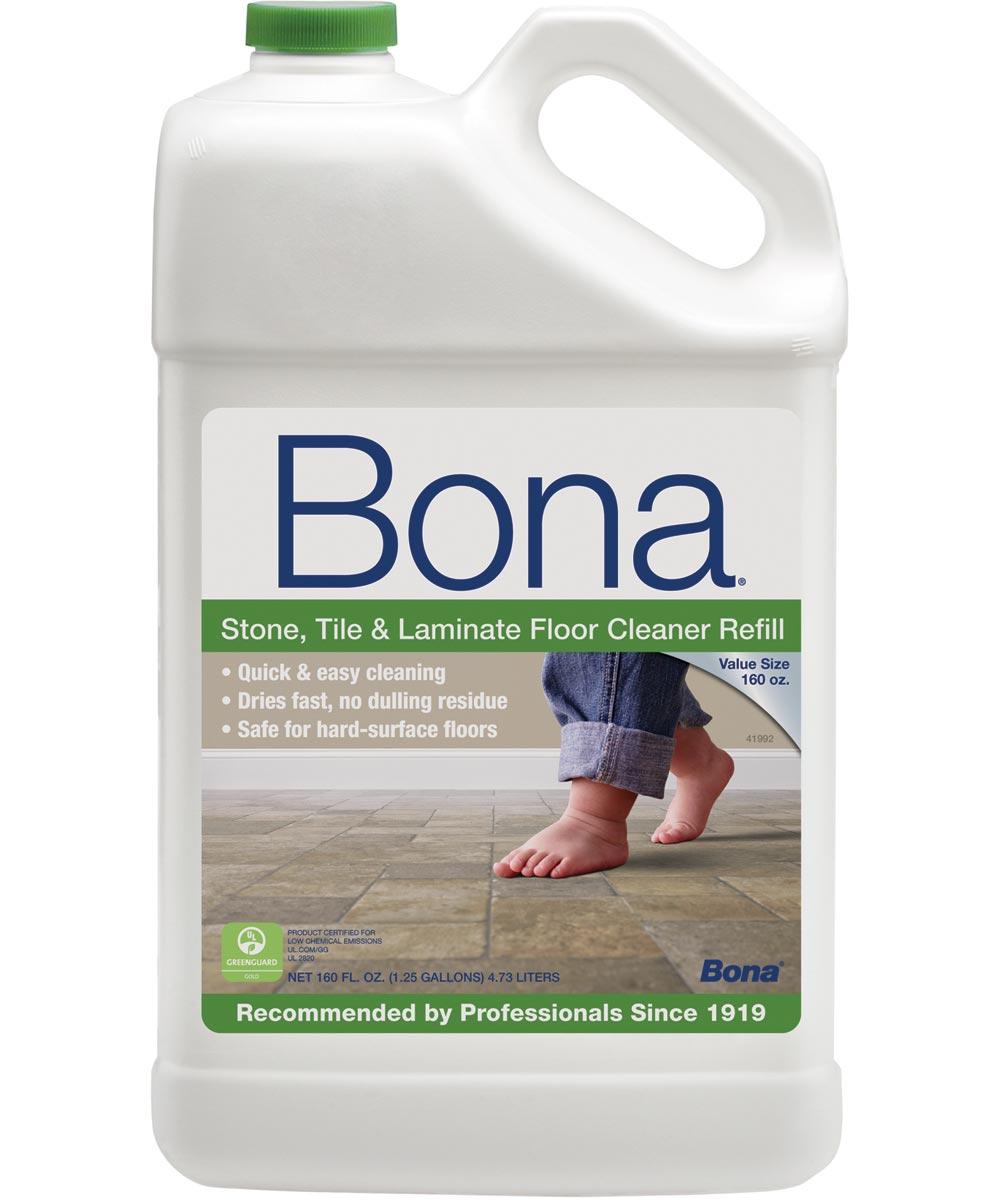 Bona Hard Surface Floor Cleaner, 160 oz., Liquid