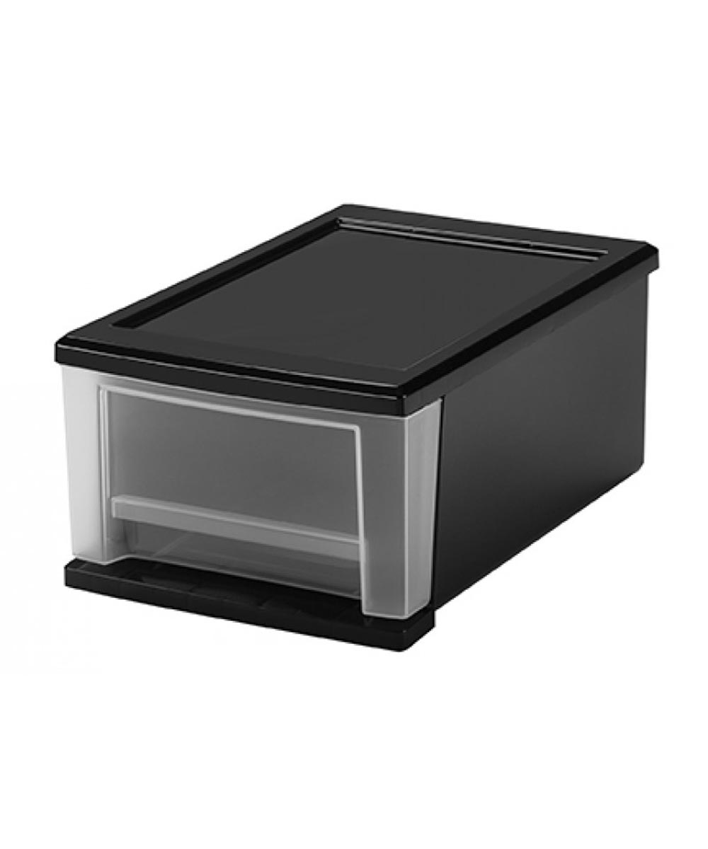 Small Stacking Drawer, Black