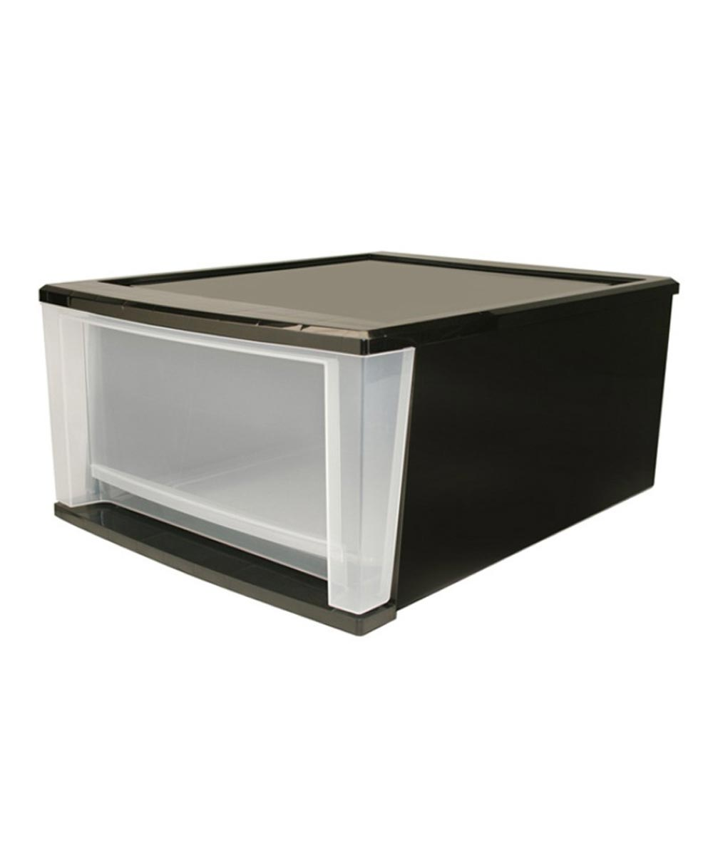 Large Stacking Drawer, Black