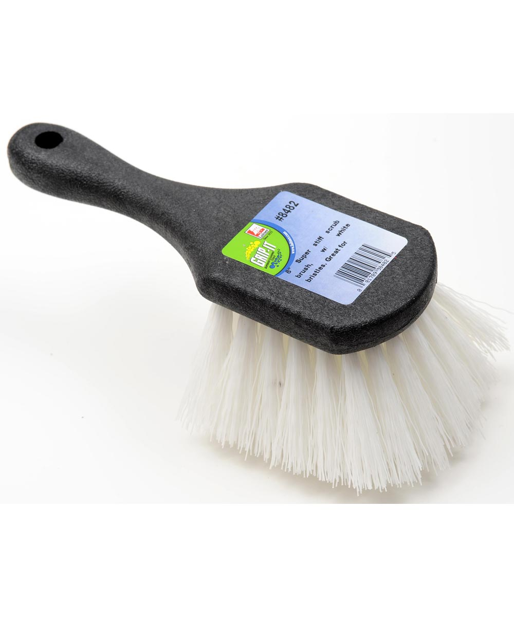 8 in. Poly Gong Scrub Brush