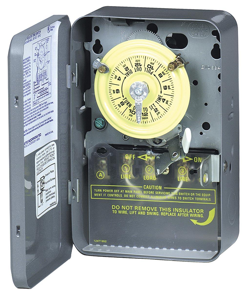 250 Volt Water Heater Timer