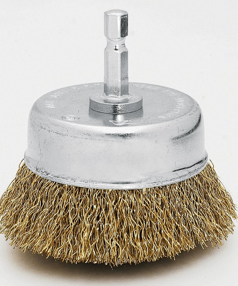 2-3/4 in.  Fine Cup Wire Brush
