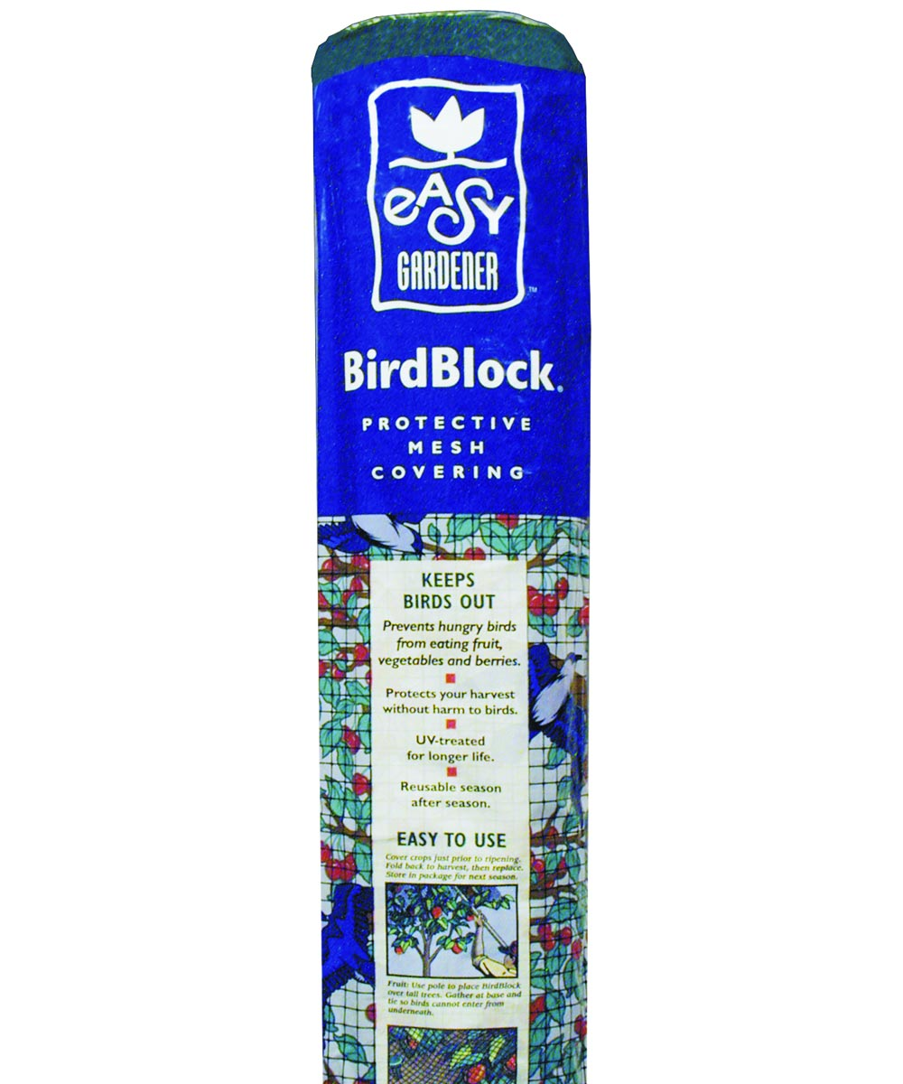 Bird Block Protective Netting, 14 x 14 Foot
