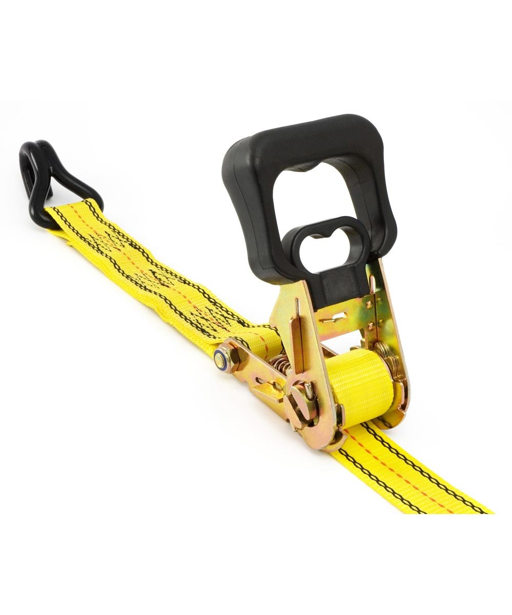 16 ft. x 1-1/2 in. Commercial Grade Ratchet Tie Down With Hooks