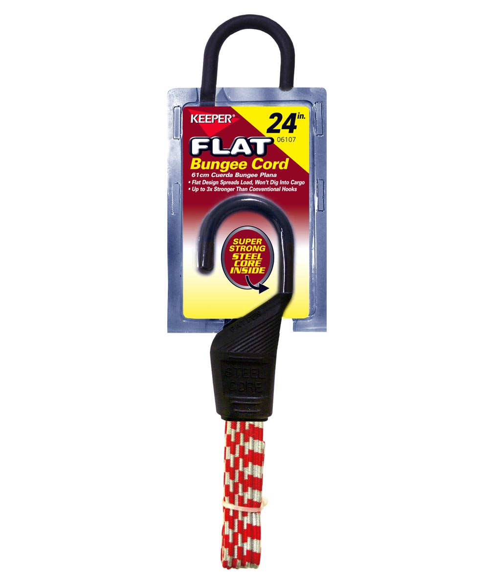 24 in. Flat Bungee Cord