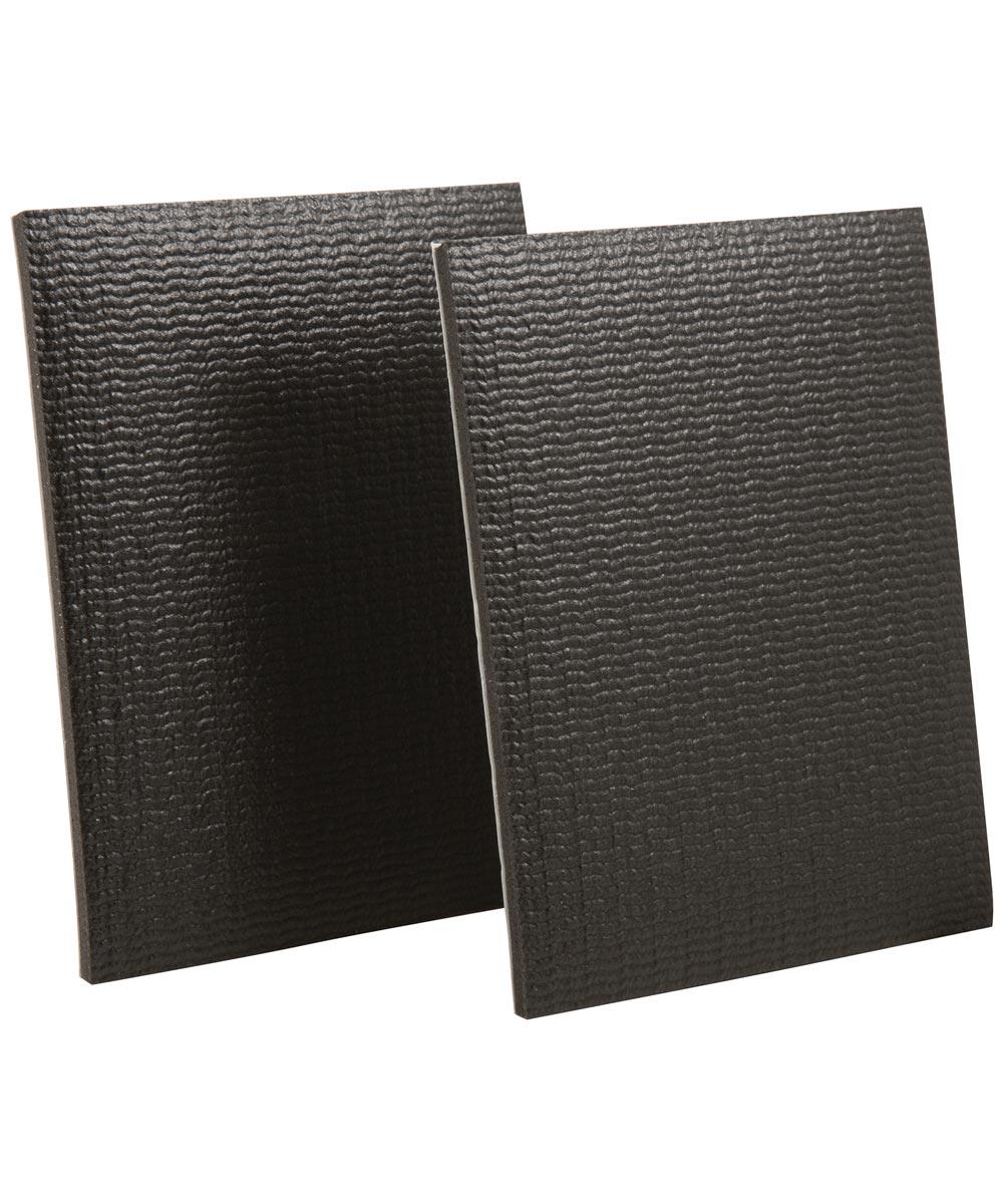4 in. x 5 in. Black Self-Stick Gripper Pads 2 Count
