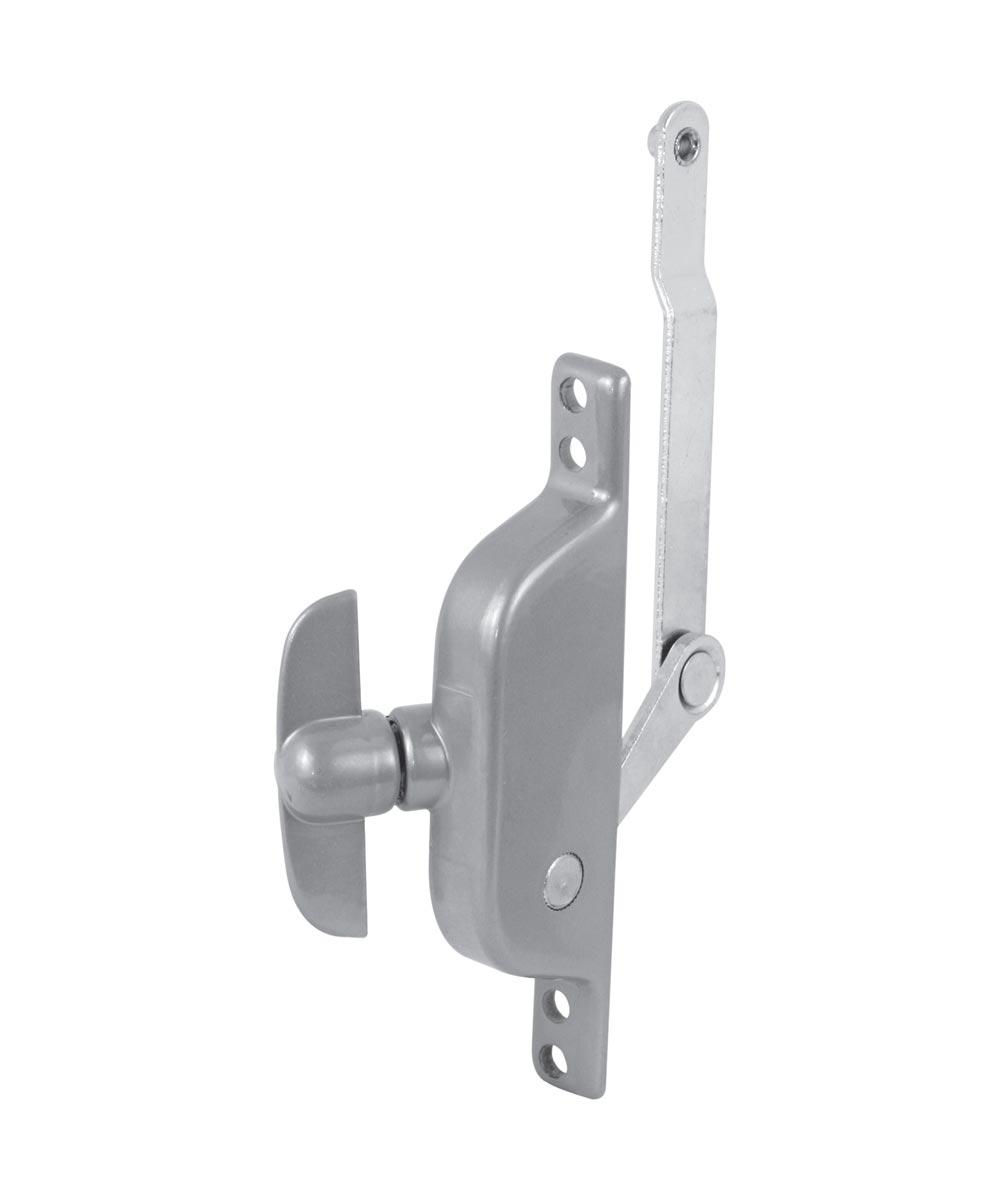 Jalousie Window Crank Operator, 3-5/8 in. Offset Link Aluminum