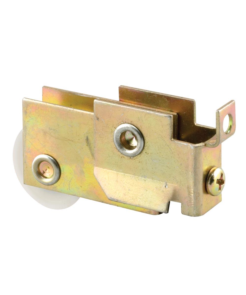 Mirror Door Roller, 1-1/4 inch BB Nylon Grooved Roller, 1 per package.