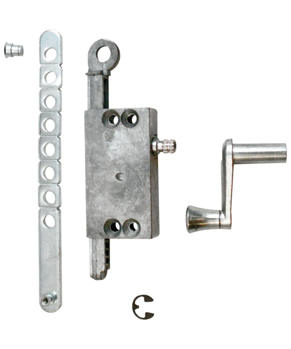 R 7015 Diecast Side Mount Louvre Window Operator Assembly