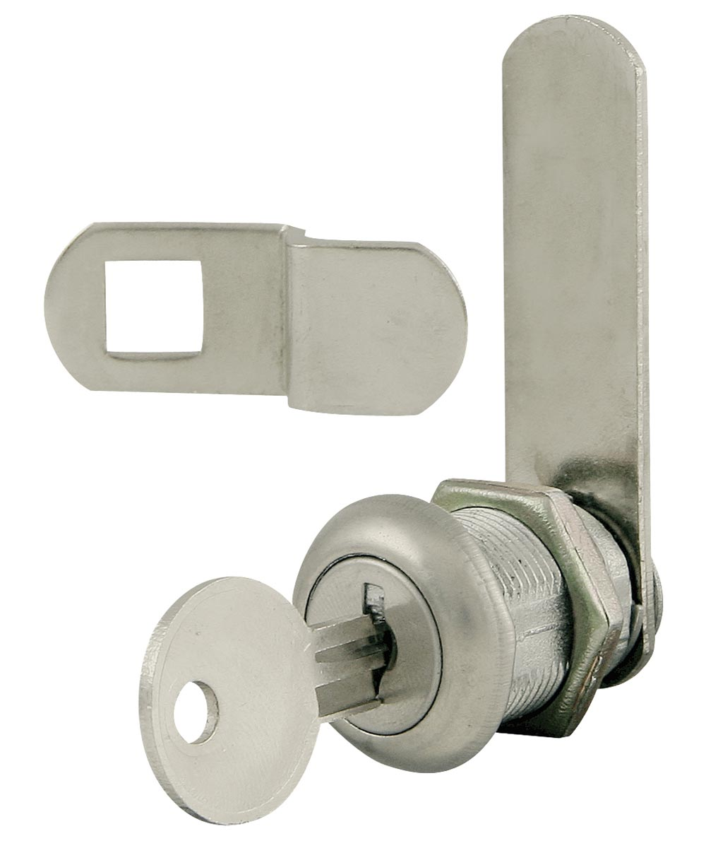 Nickel Plated Disc Tumbler Cam Lock Kit
