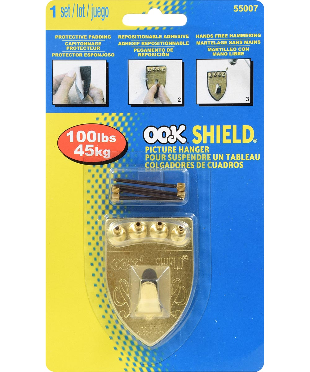 OOK Wall Protector Single Shield Hanger 100lb