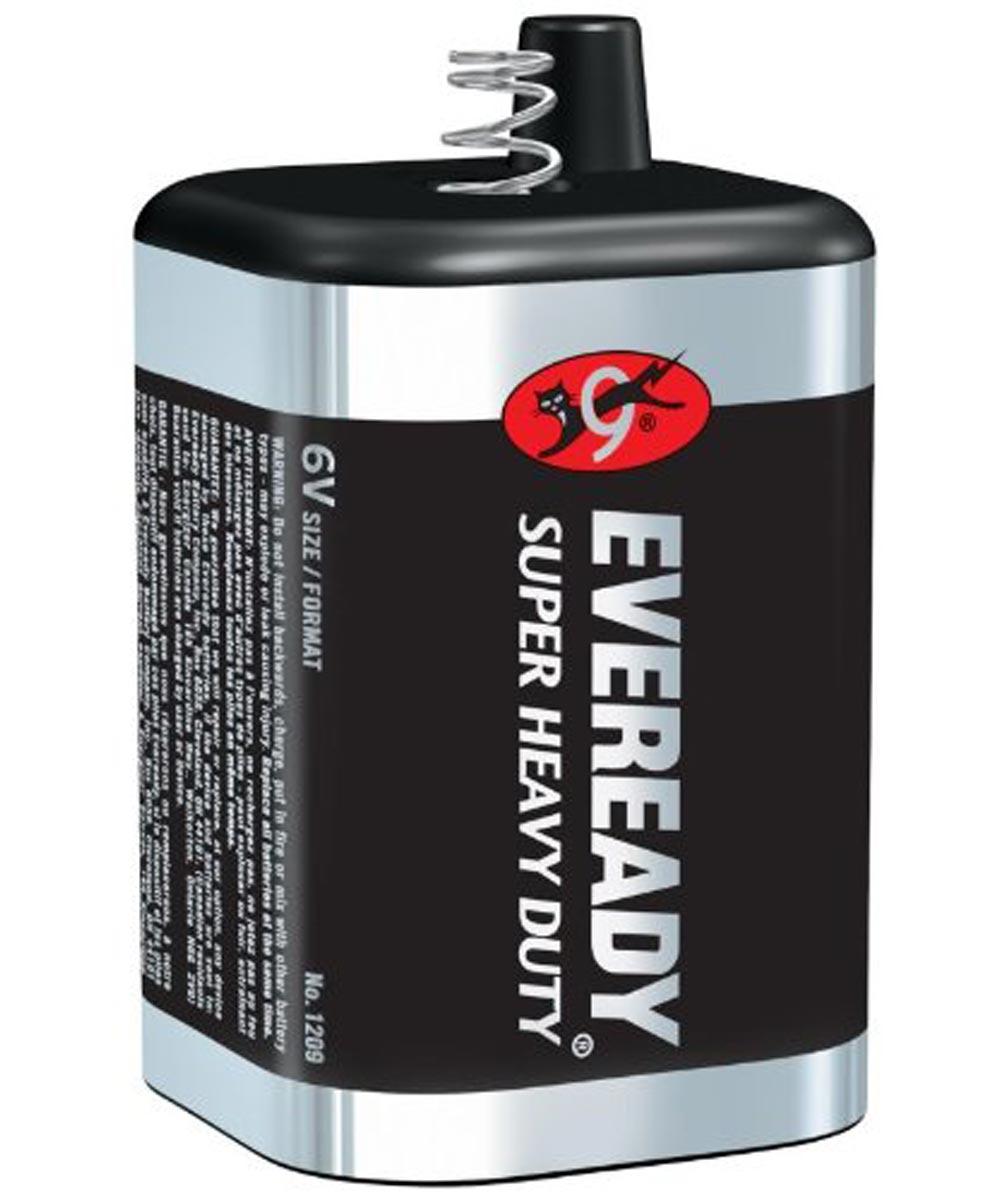 Eveready Super Heavy Duty 6V Battery