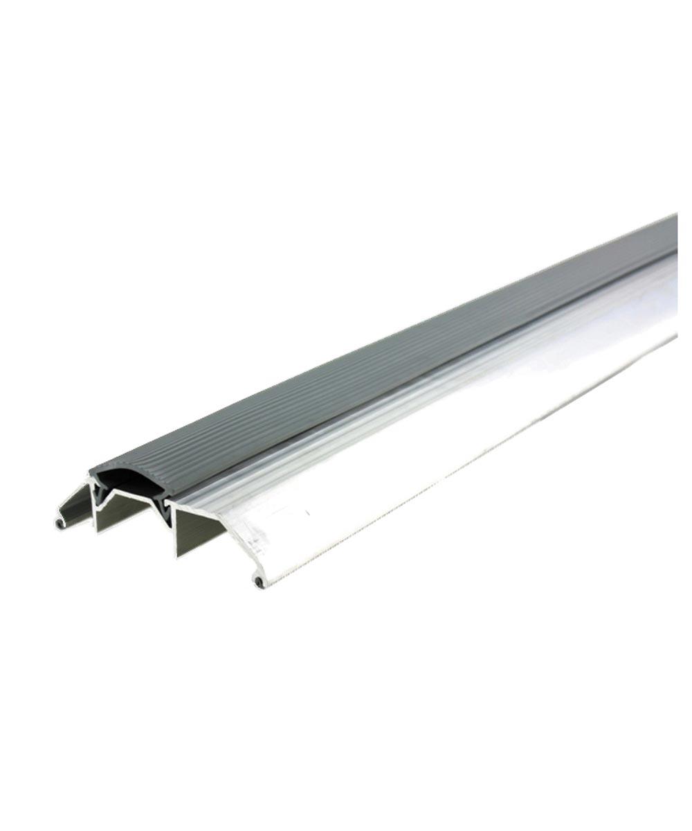 36 in. Gray Deluxe Aluminum Threshold