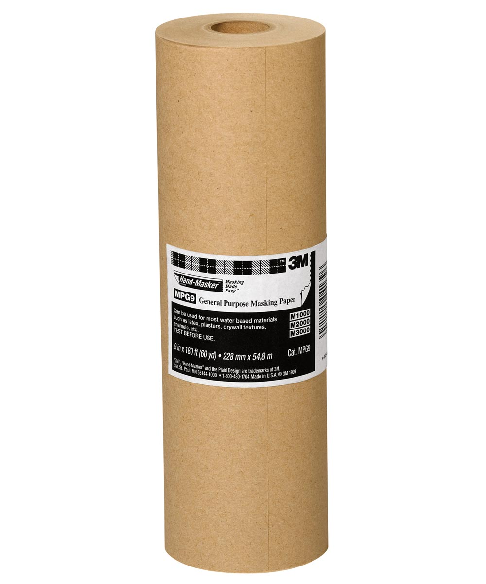 9 in. x 60 Yards Hand-Masker General