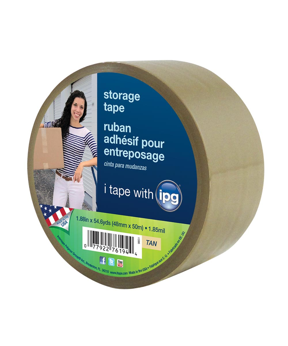 Acrylic Storage Tape Clear
