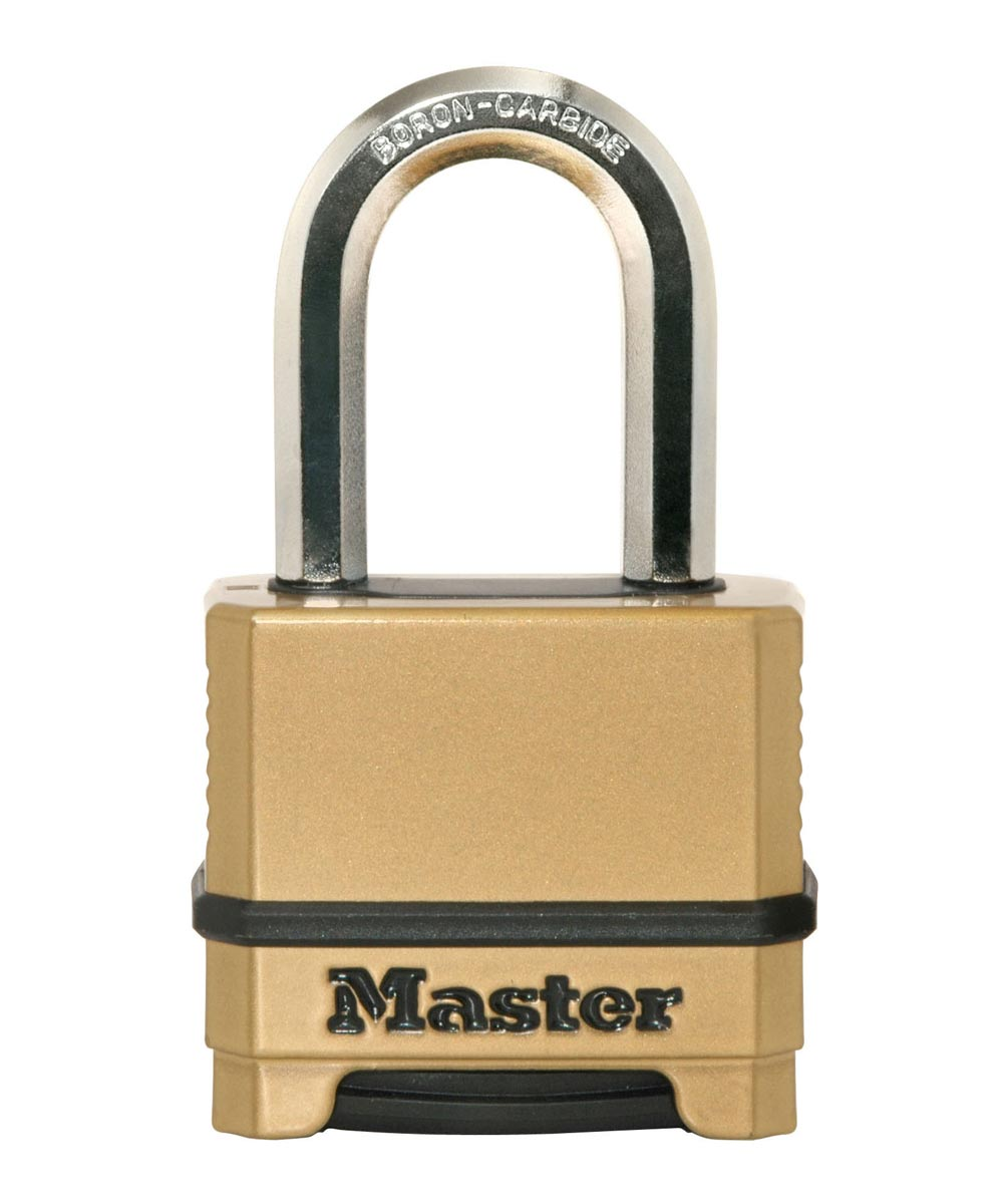 Master Lock 2 in. Magnum Zinc Body Combination Padlock with 1-1/2 in. Shackle