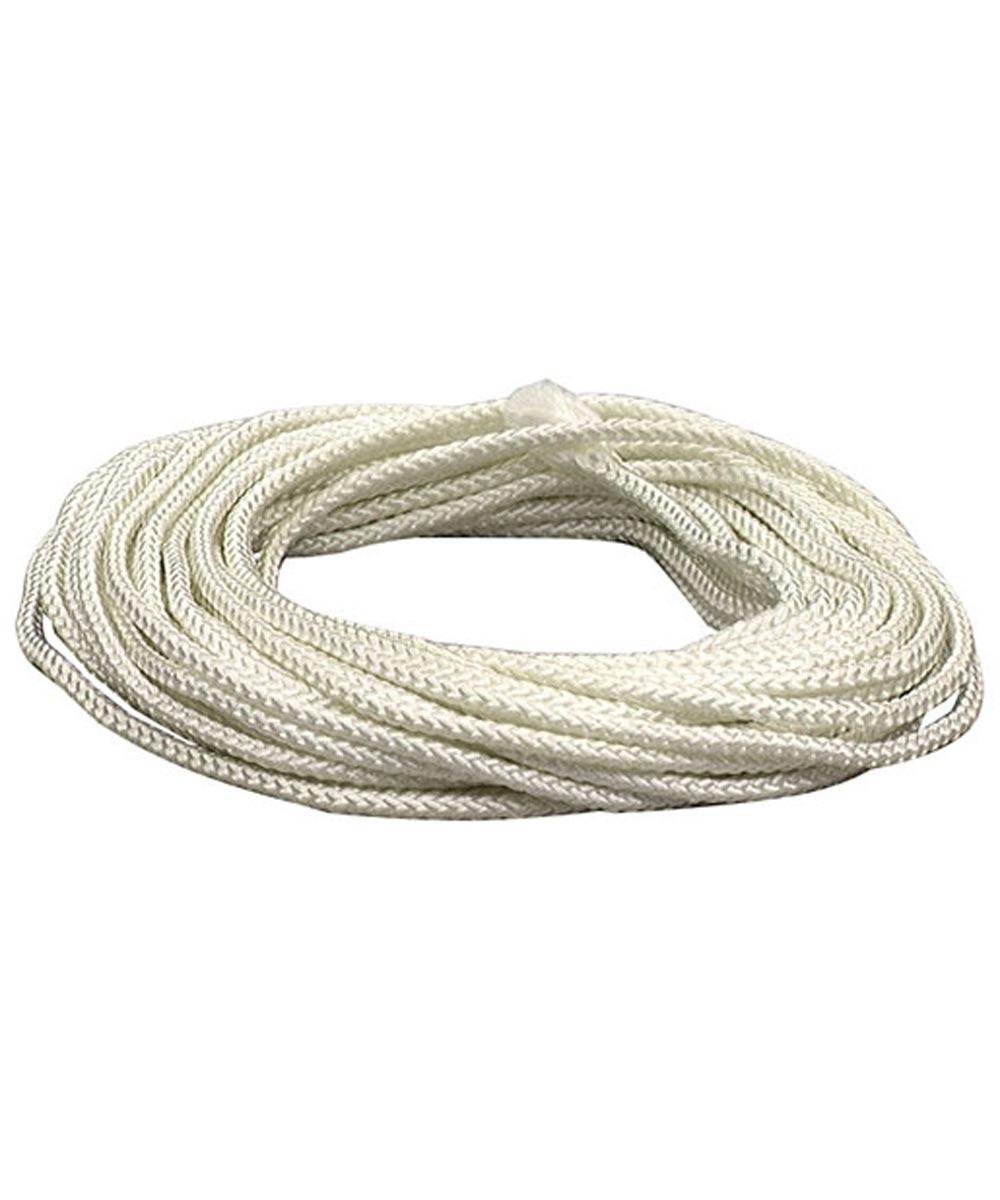 3/16 in. White Nylon Diamond Braid Rope (Sold Per Foot)