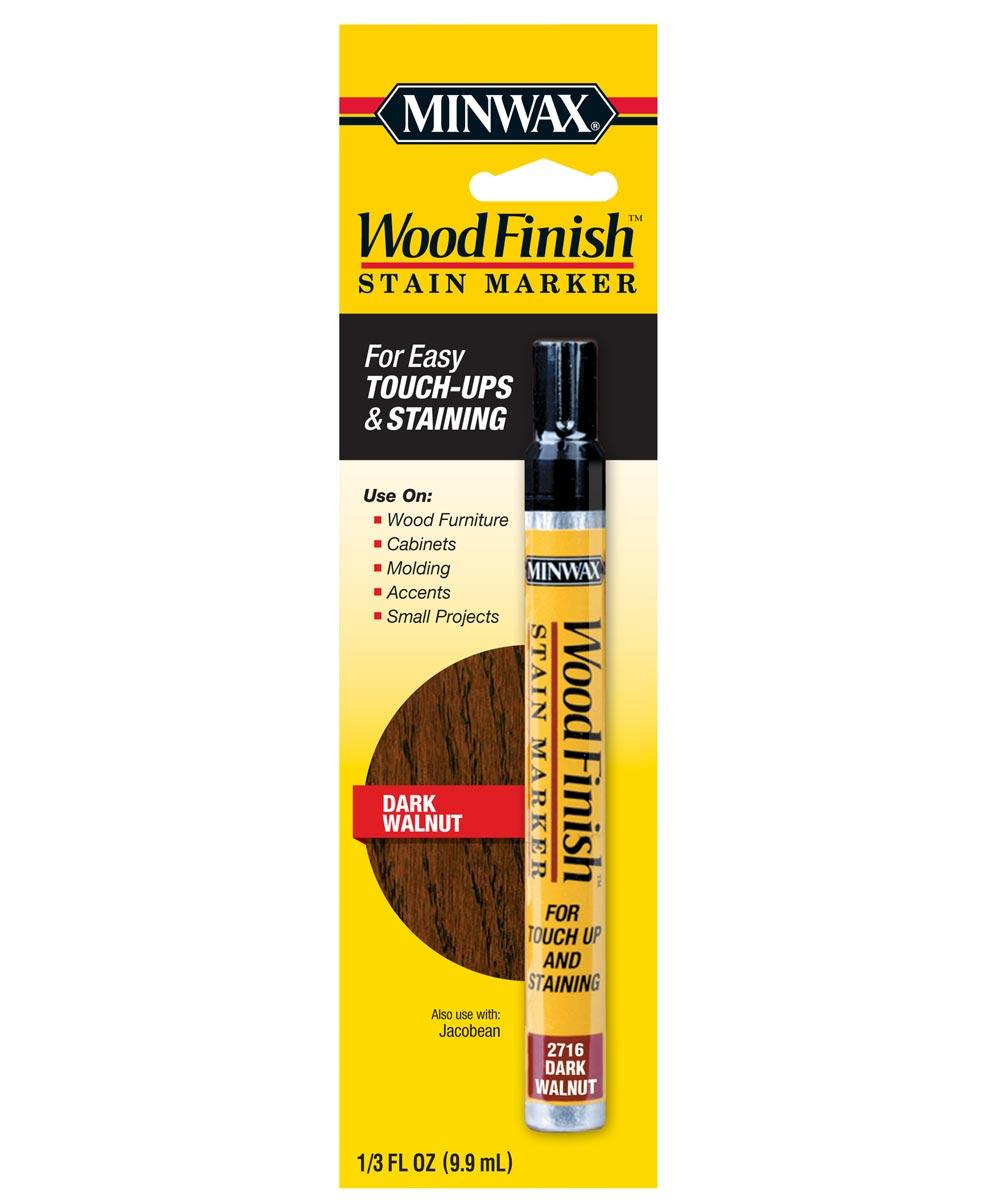 1/3 oz. Wood Finish Dark Walnut Stain Marker