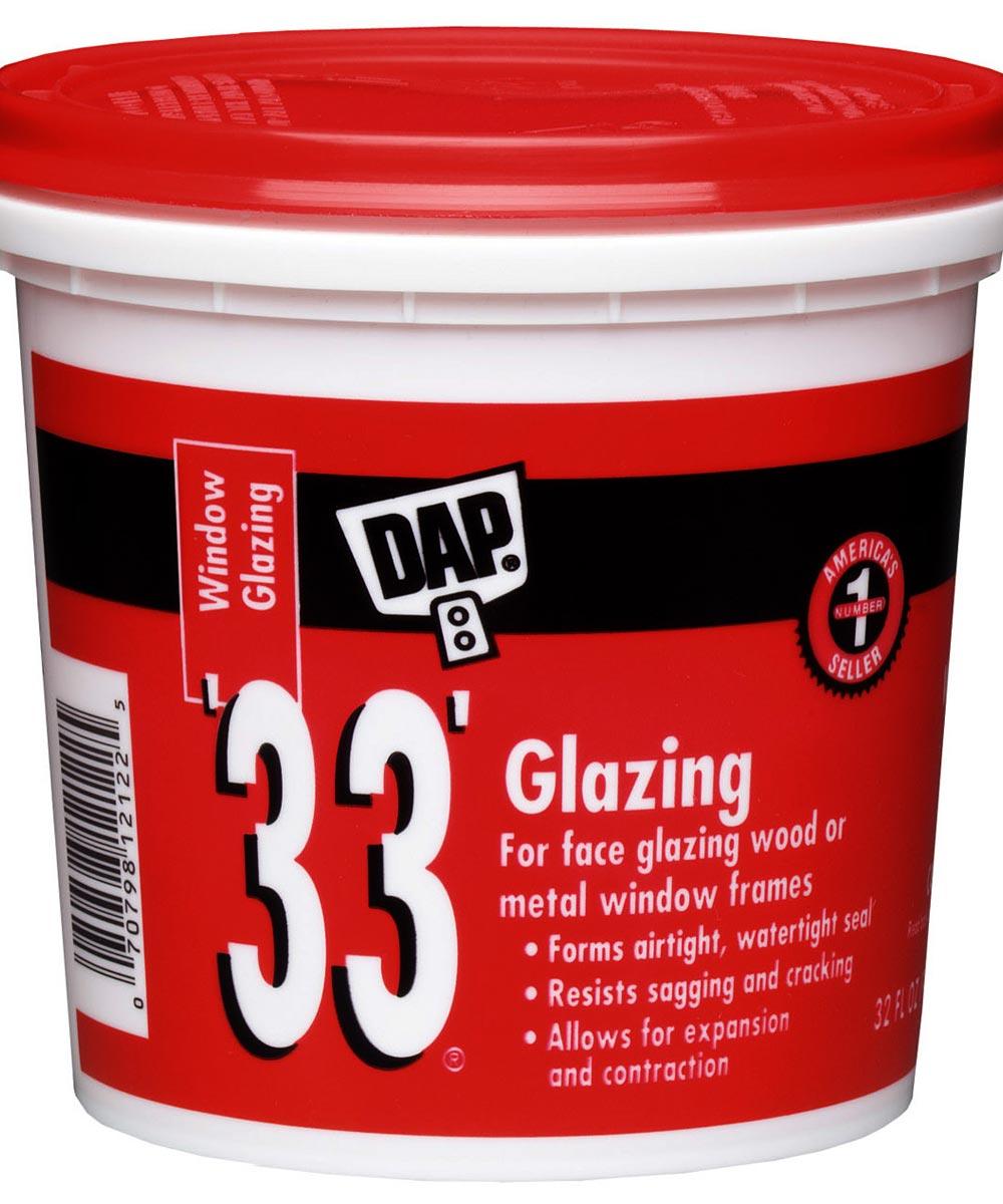 1 Quart 33 Glazing Compound White