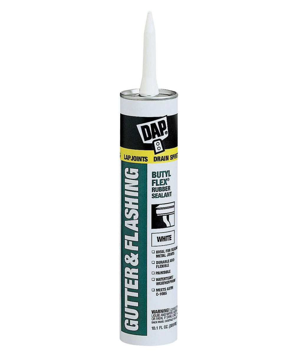 10.1 oz White Gutter & Flashing Sealant