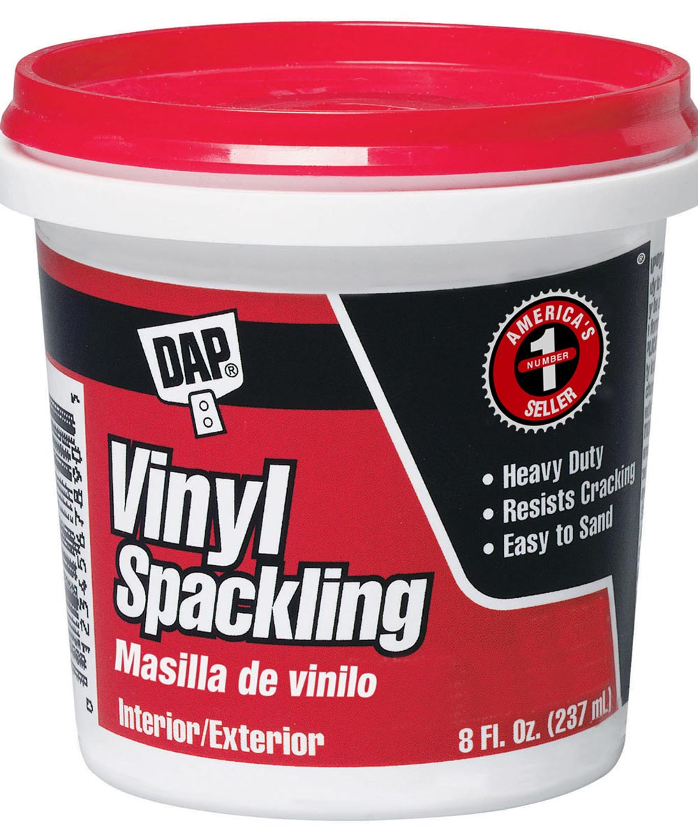 1/2 Pint Vinyl Spackling Compound Interior