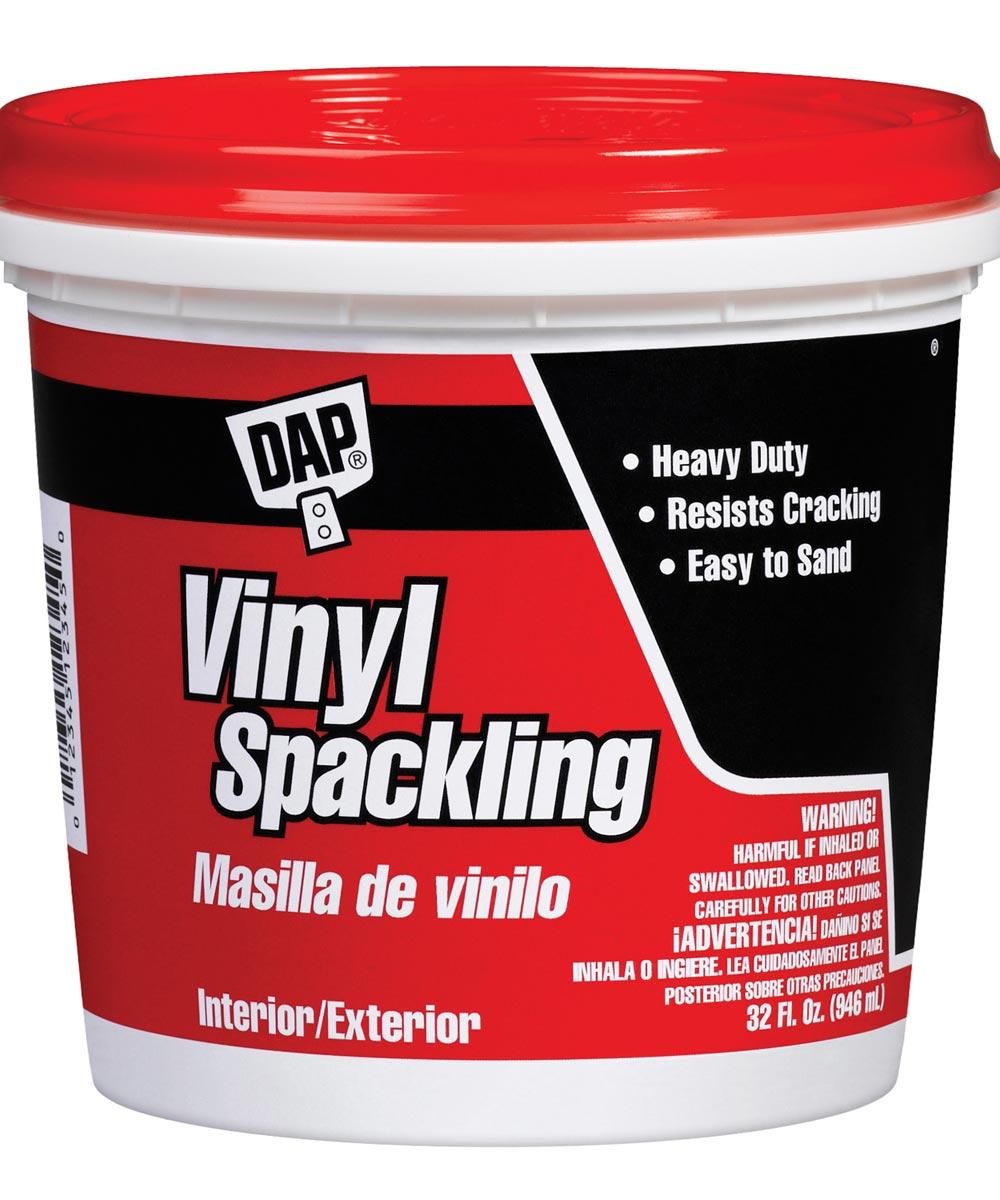 1 Quart Vinyl Spackling Compound Interior