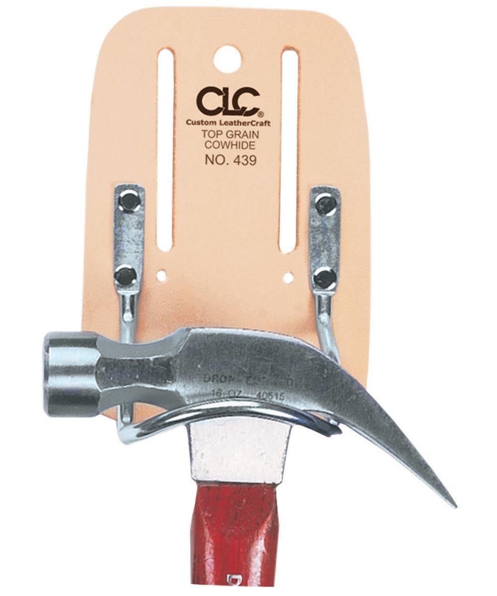 Leather & Steel Loop Hammer Holder