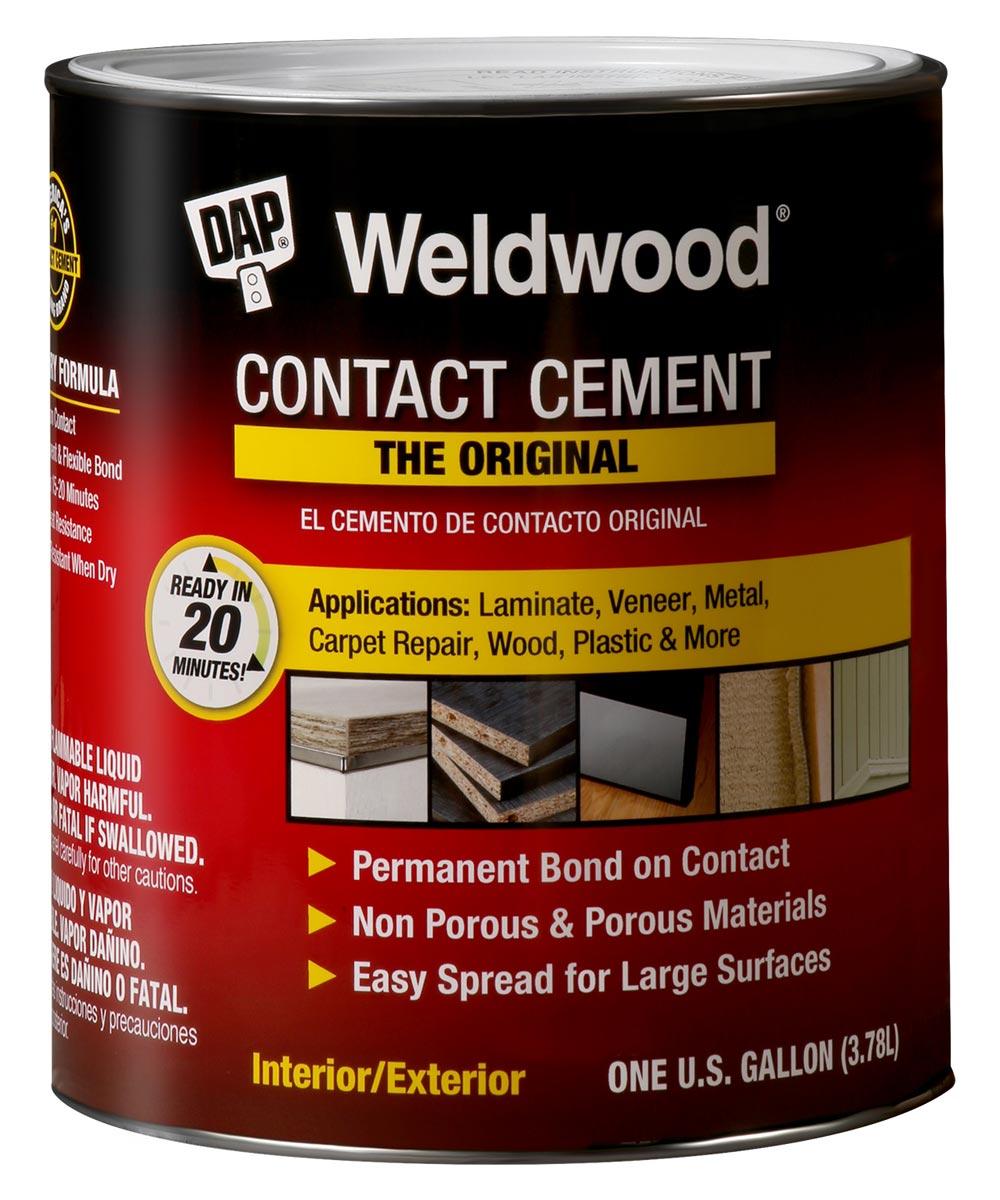 1 Gallon Tan WeldWood Original Contact Cement