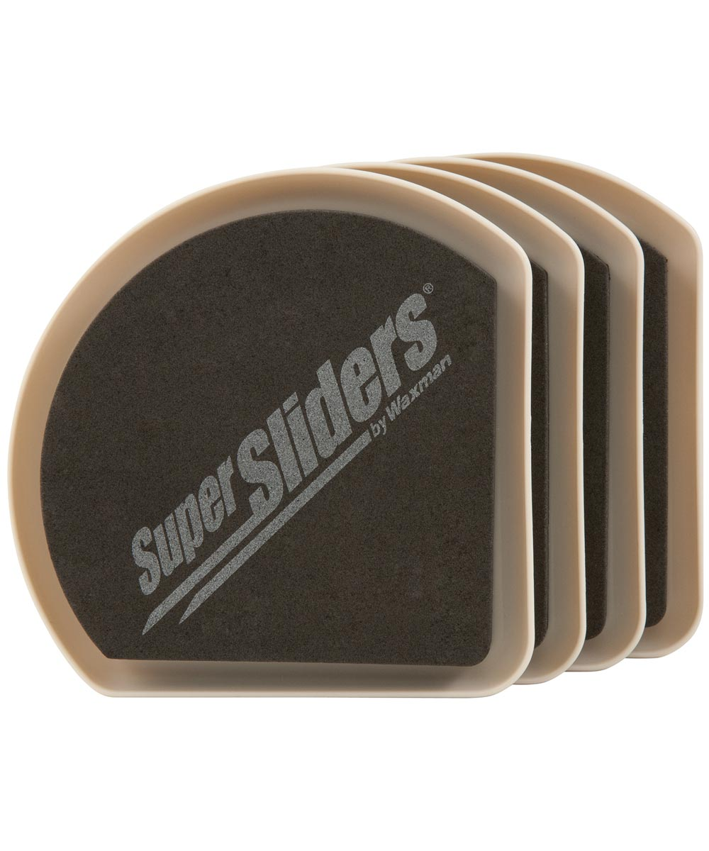5 in. Hide & Slide Furniture Sliders 4 Count