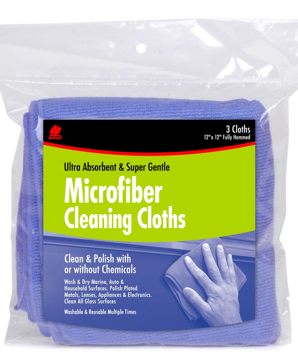 Microfiber Cleaning Cloths, 3 Pack
