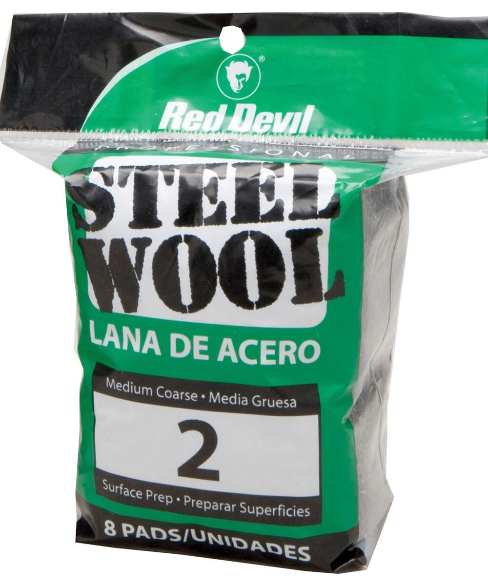 #2 Steel Wool 8 Pack