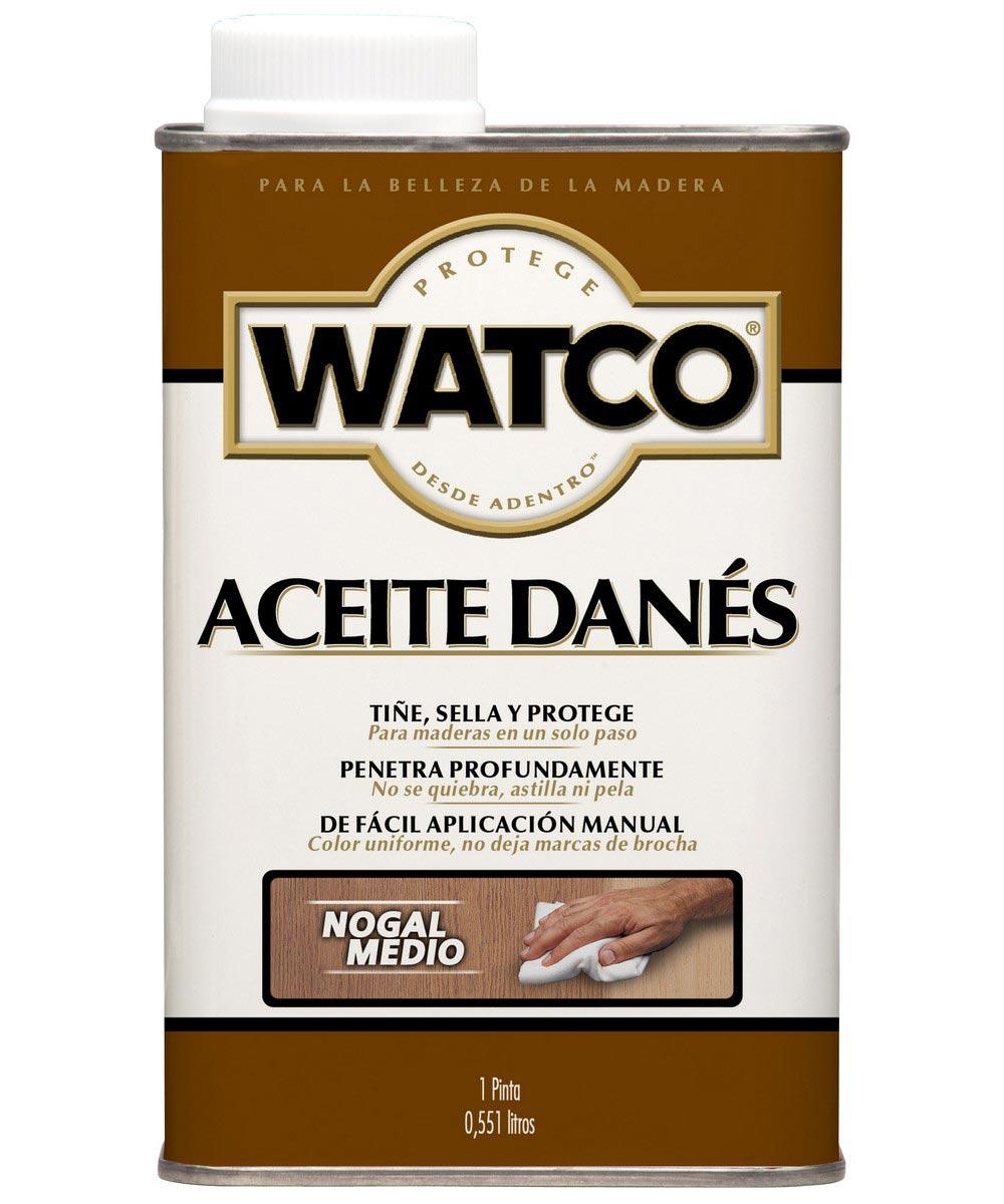 WATCO Danish Oil, Pint, Medium Walnut