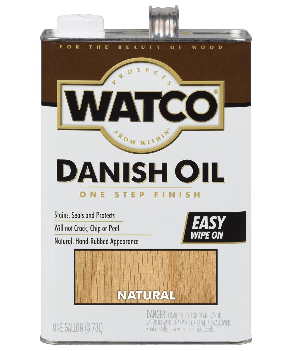 WATCO Danish Oil, 1 Gallon, Natural