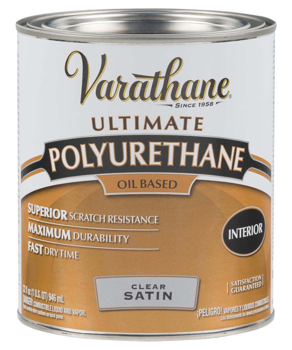 Varathane Ultimate Polyurethane Oil Based, Quart, 9141 - Satin