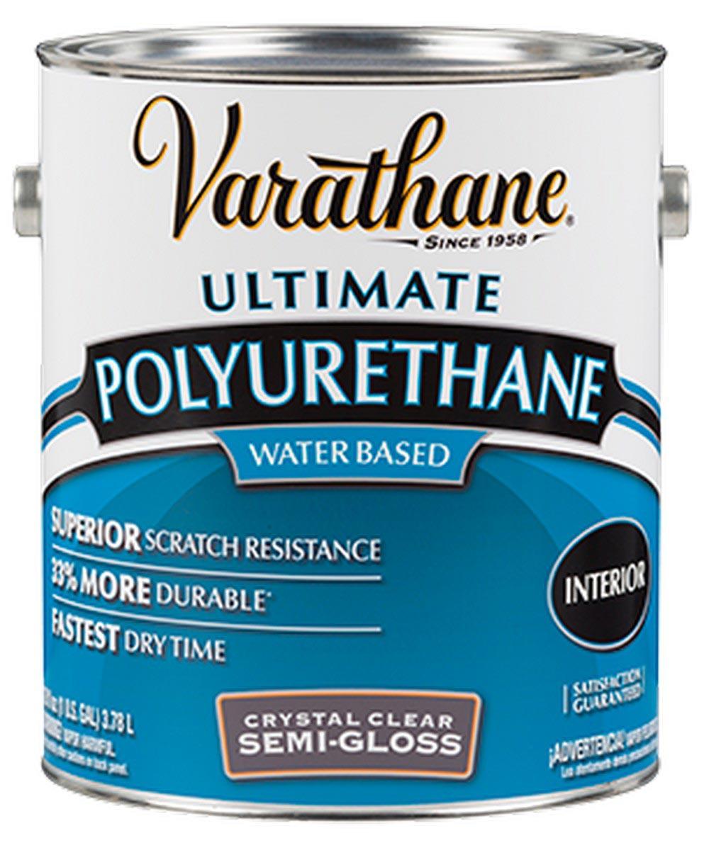 Varathane Crystal Clear Polyurethane, 1 Gallon, Gloss