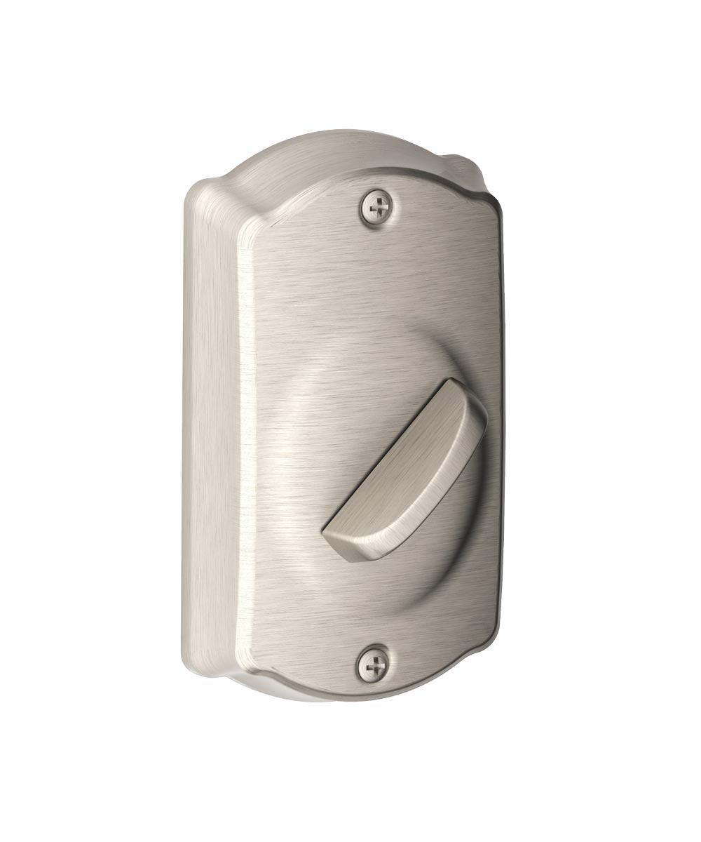 Schlage Camelot Keypad Deadbolt, Satin Nickel