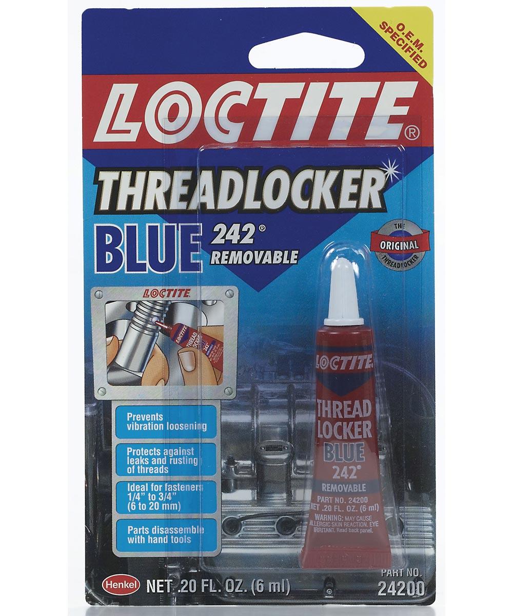 0.20 oz. Blue Medium Strength Threadlocker