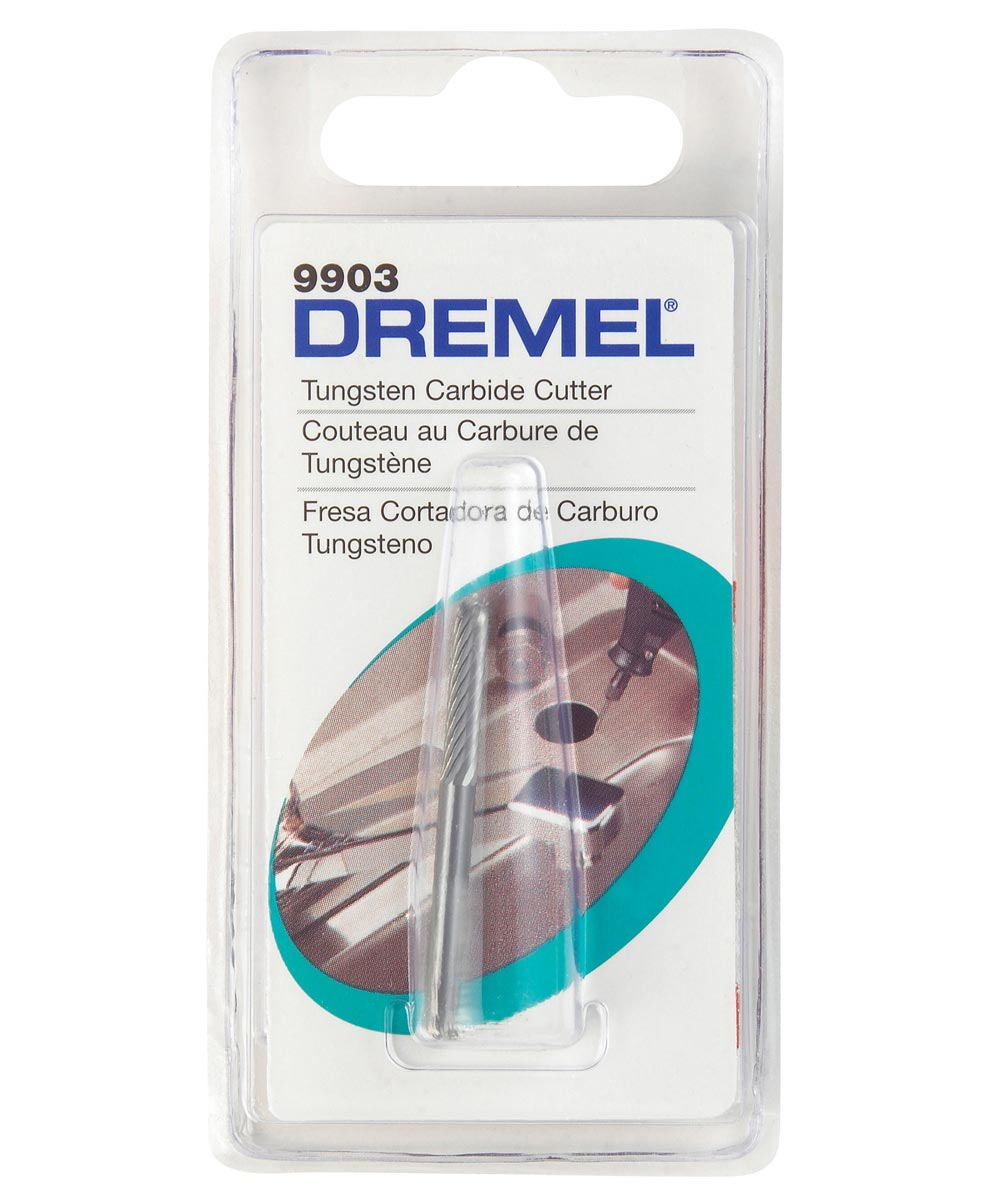 Dremel 9903 Rotary 1/8 in. Tungsten Carbide Carving Bit