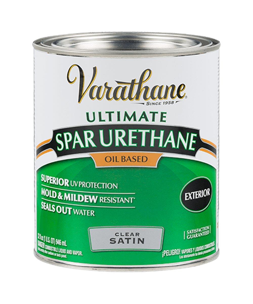 Varathane Ultimate Spar Urethane Oil Based, Quart, 9341 - Satin