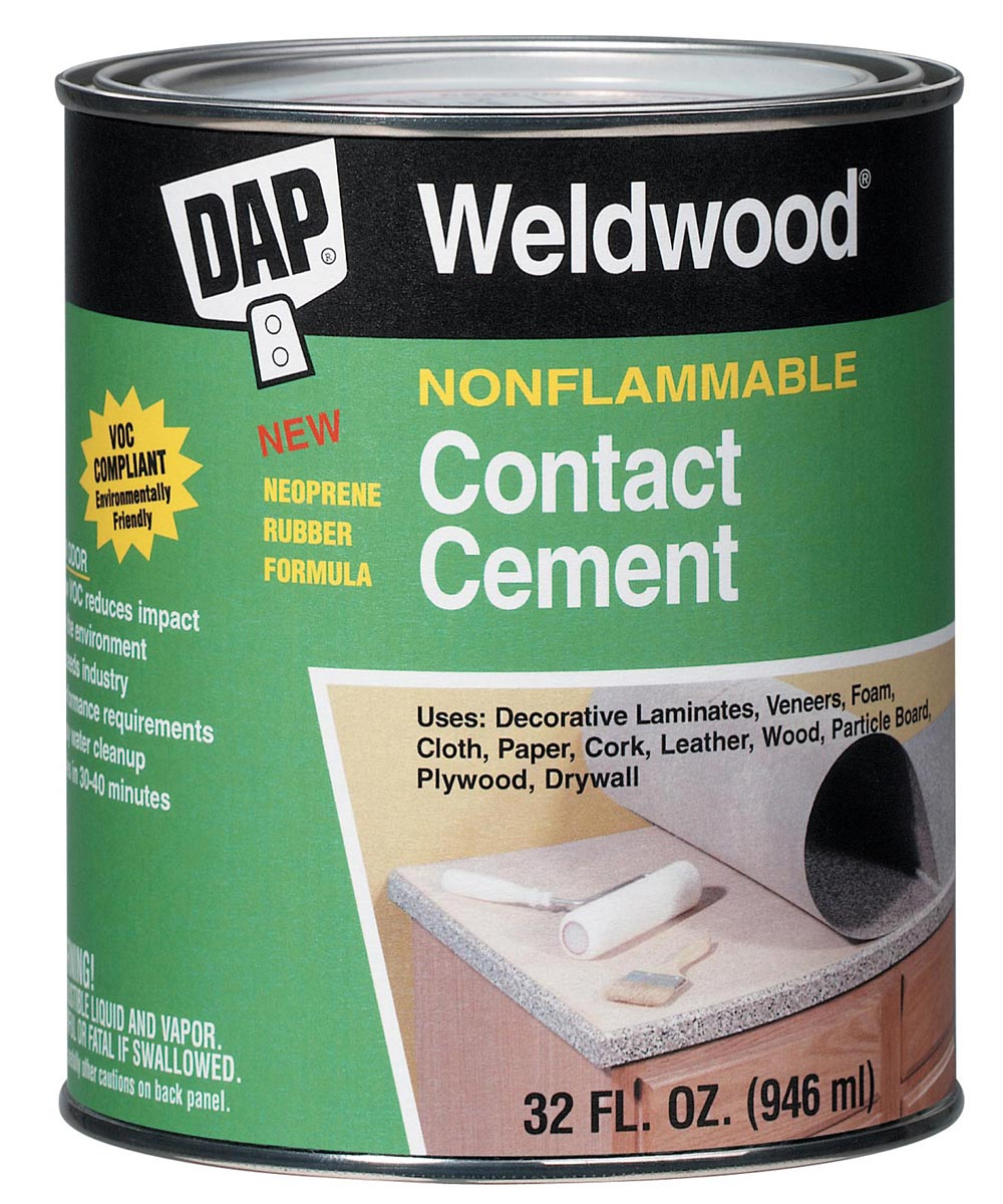 1 Quart Weldwood Nonflammable Contact Cement