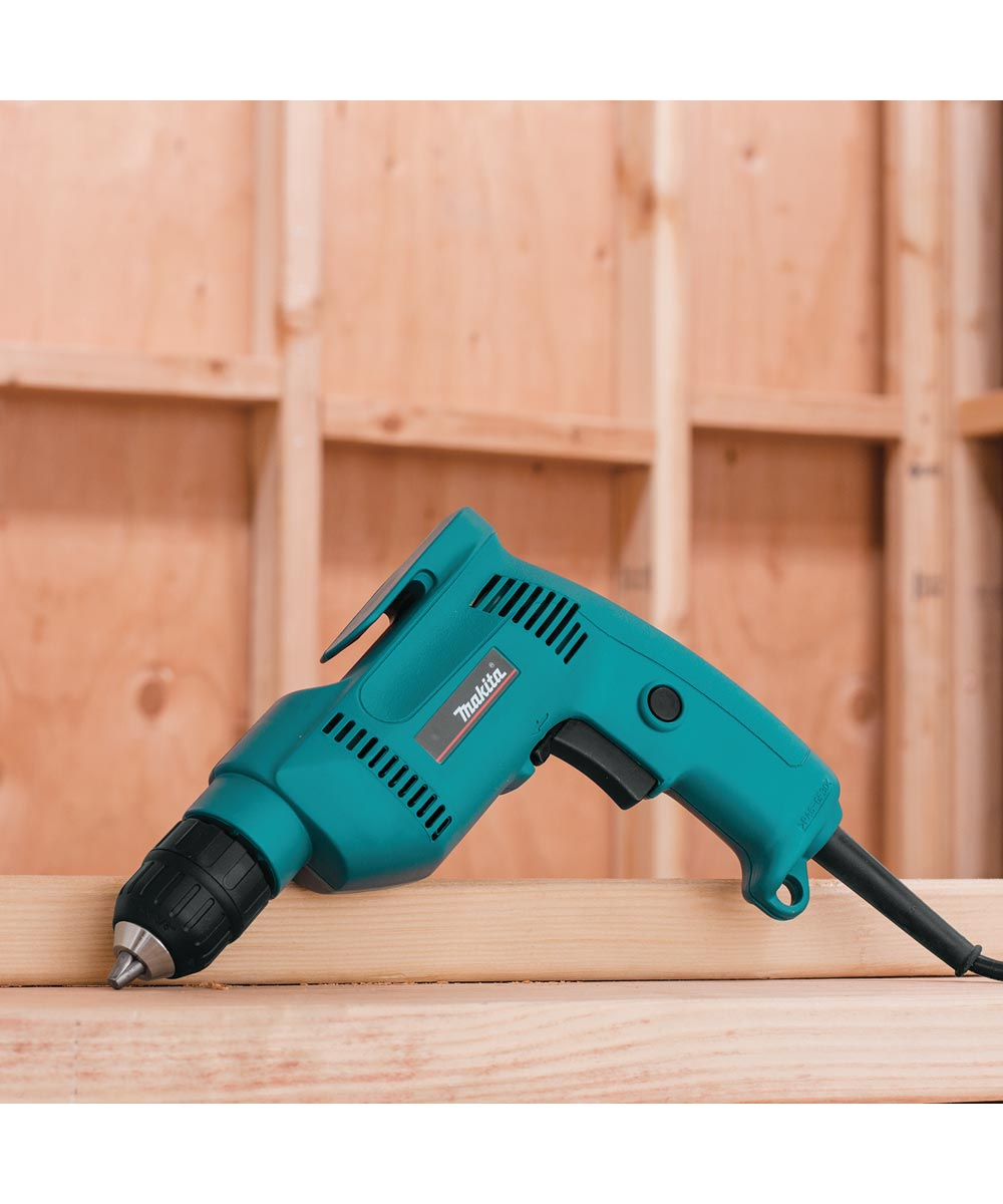 Makita Corded 3/8 in. 4.9 Amp Drill with Case