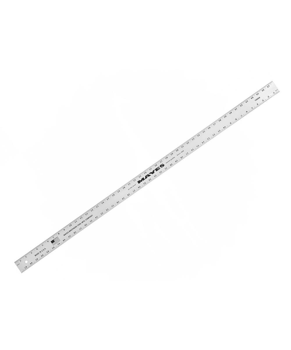 48 in. x 2 in. Straight Edge Aluminum Ruler