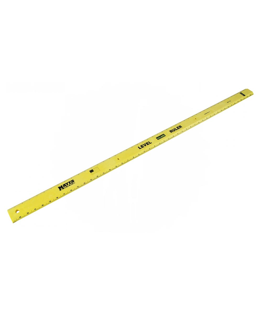 48 in. Yellow Poly Level Rule