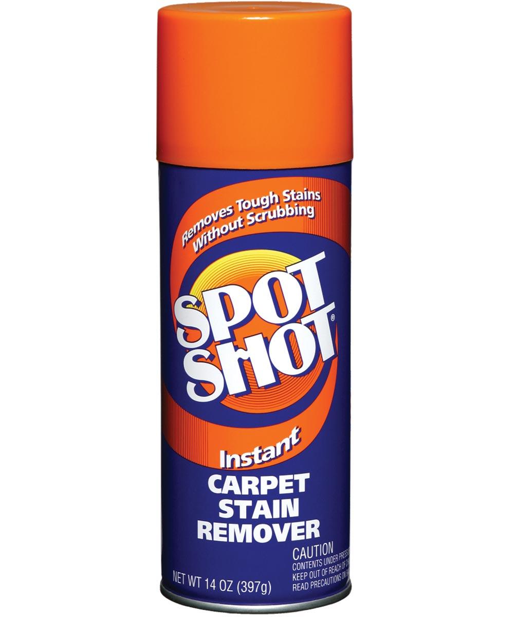 Spot Shot Non-Toxic Carpet Stain Remover, 14 oz., Aerosol Can, Aerosol Foam