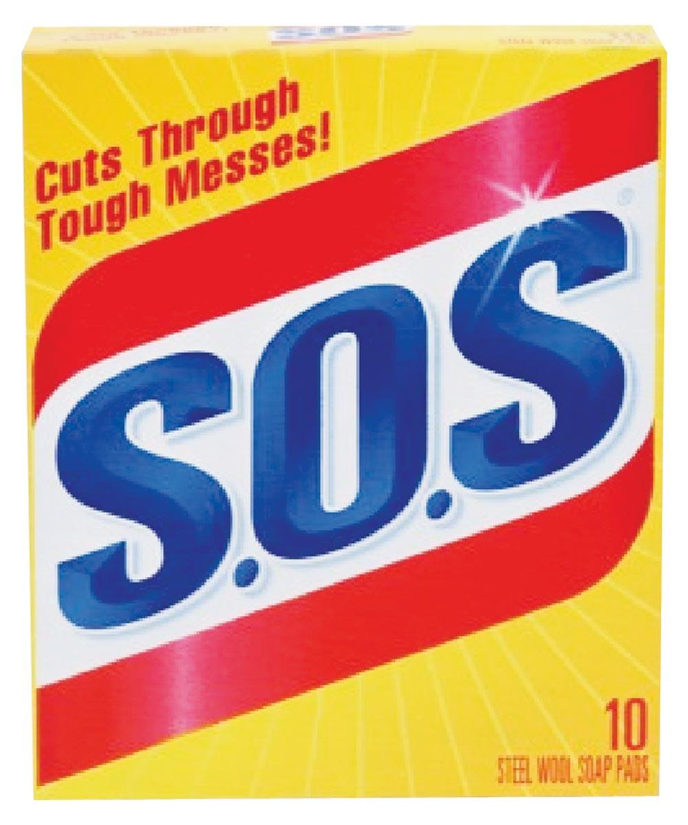 SOS Soap Pad, 10 Pack
