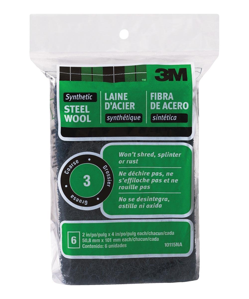 3M #3 Coarse Synthetic Steel Wool