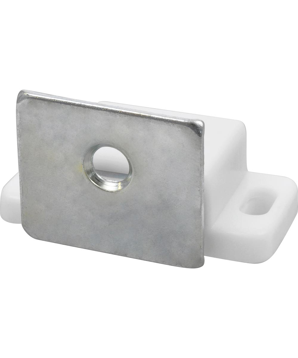 Single Magnetic Latch (with Strike, White)