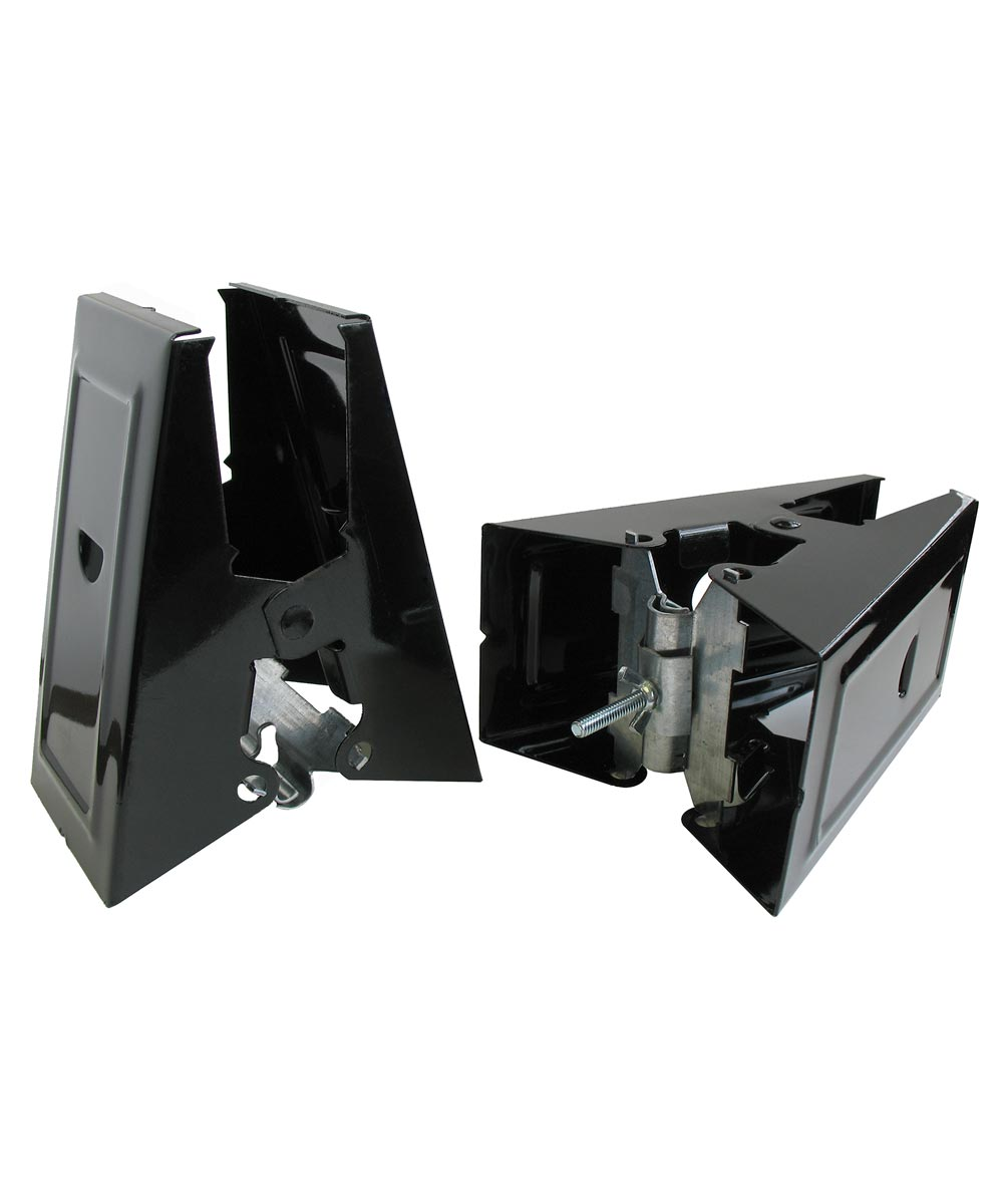 Heavy Duty Steel Sawhorse Bracket 2 Count